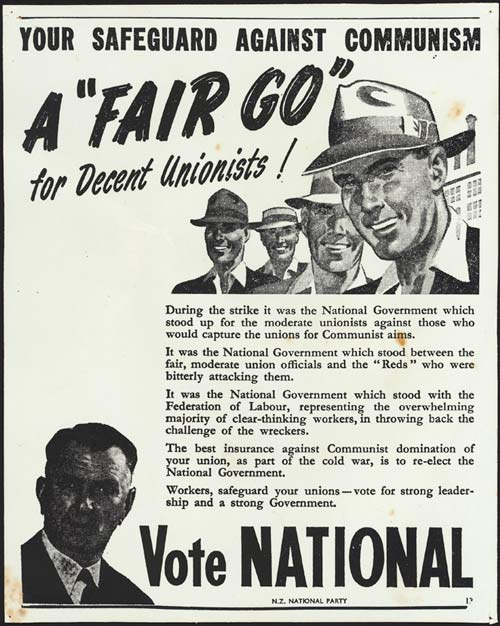 1951 national poster communism