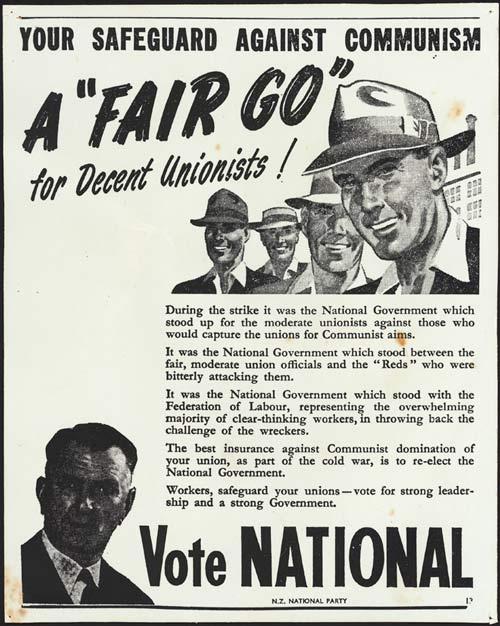 1951 national poster communism