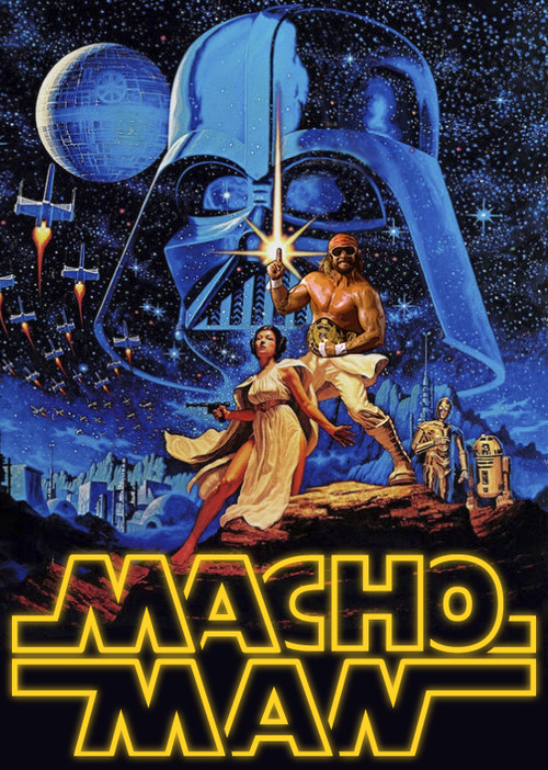 macho man star wars