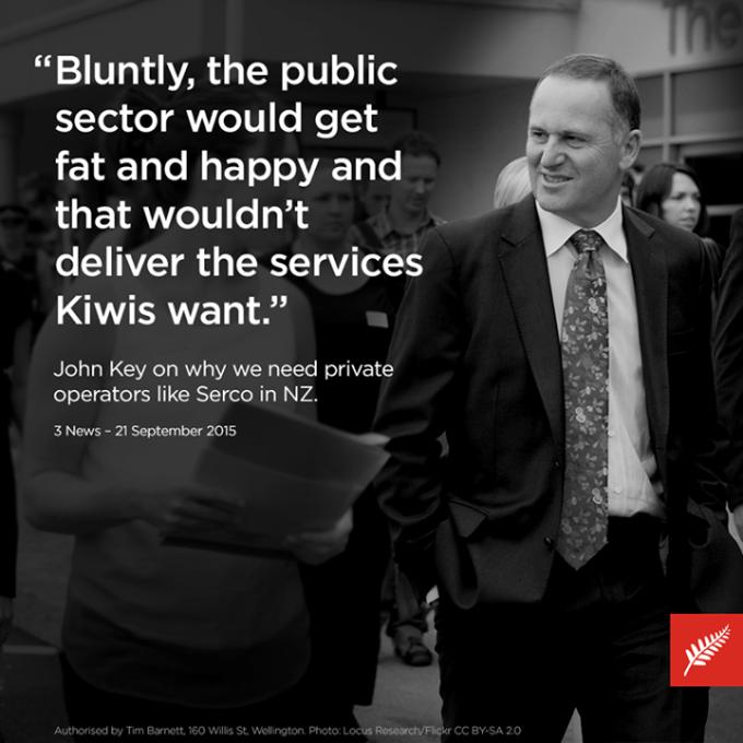 key on public services