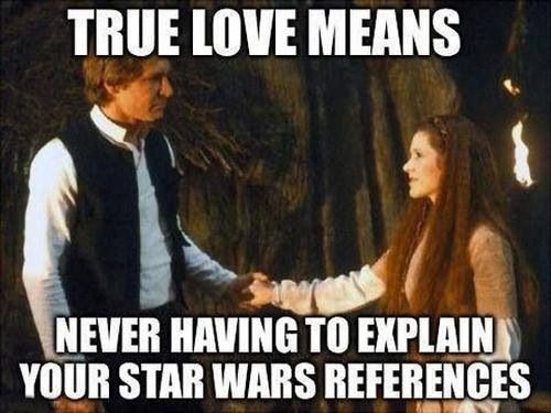 true love star wars
