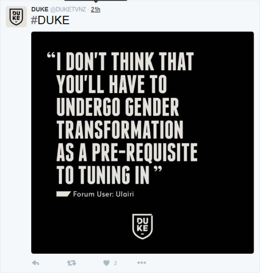 duke transphobia